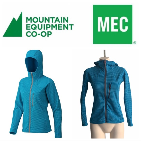 MEC Khamsin Hoodie Soft Cozy Fleece on Interior